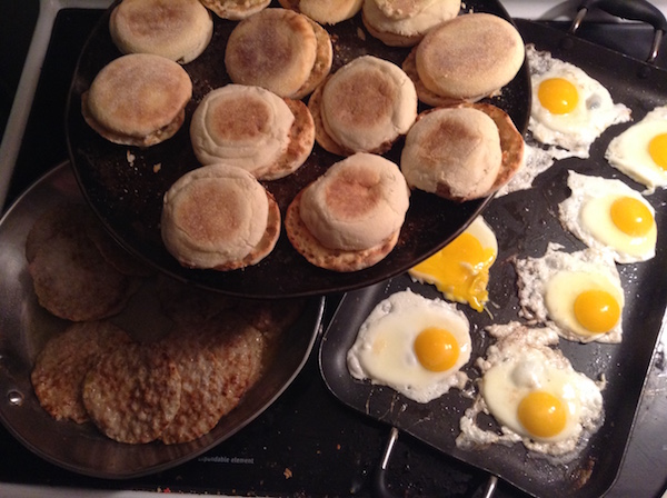 muffins-eggs-and-sausages