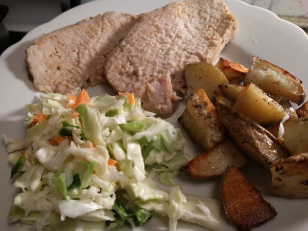 pork-potatoes-cole-slaw